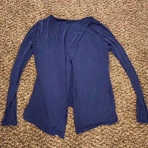 Athleta super soft slit open back size medium